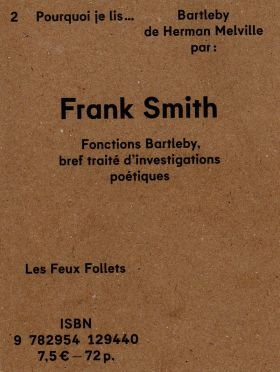 Fonctions Bartleby de Frank Smith (2) par Michaël Moretti